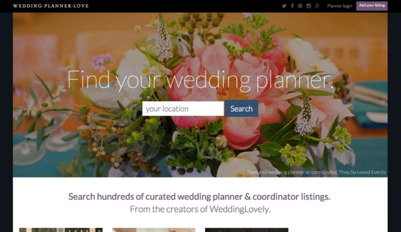 The Weddinglovely Vendor Guide All Businesses Weddingplannerlove Only Wedding Planners As Well Listings Within Planning