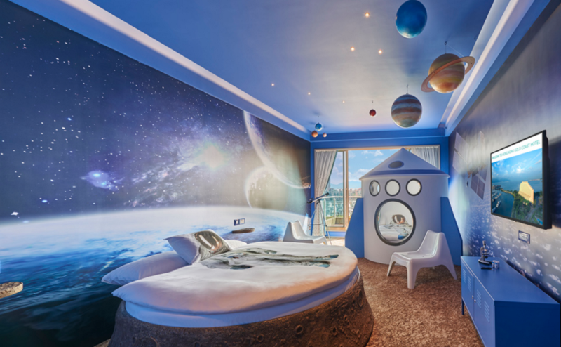 Nine Space Themed Hotel Suites Where You Can Dock For A Night