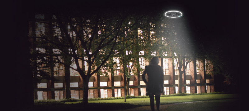 Campus Safety - On-demand drones