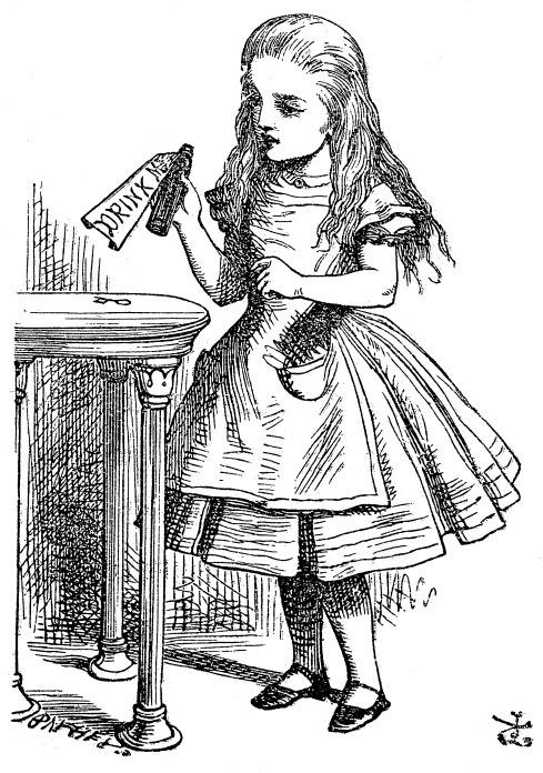 Image result for Alice in Wonderland illustrations creative commons