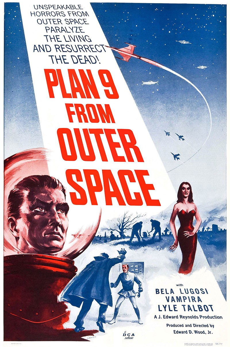 Homeys On Film Homeland Security Lessons From Bad Movies Presents Plan 9 Outer Space