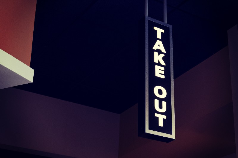 Ordering Take Out: How to Eat a Scary Monolith