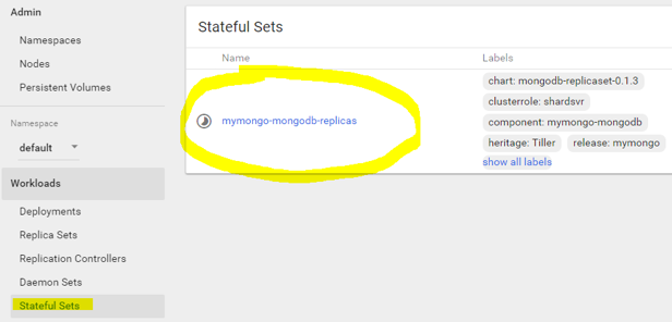 How to Run a MongoDb Replica Set on Kubernetes PetSet or StatefulSet