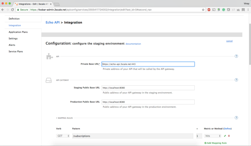 3Scale by Red Hat Integration with ForgeRock using OpenID