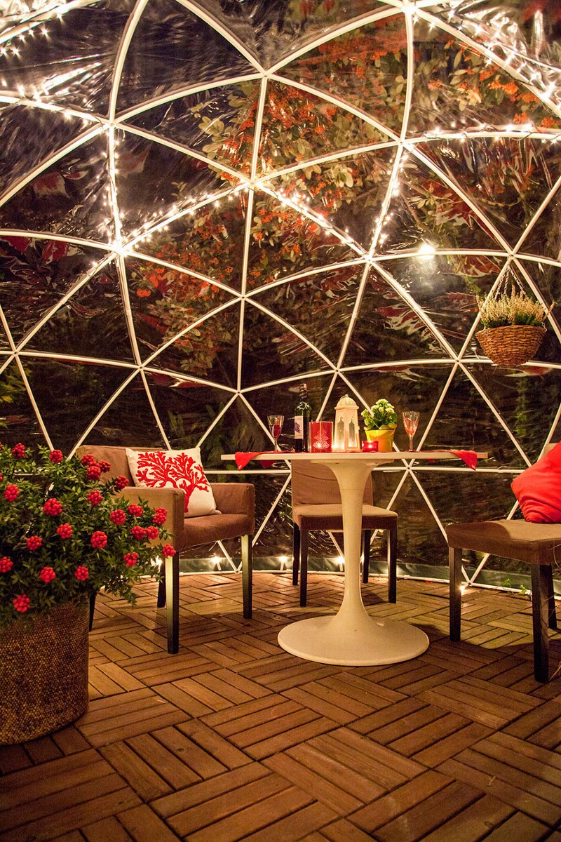 Garden igloos an awesome year round outdoor oasis stillunfold - The garden igloo ...