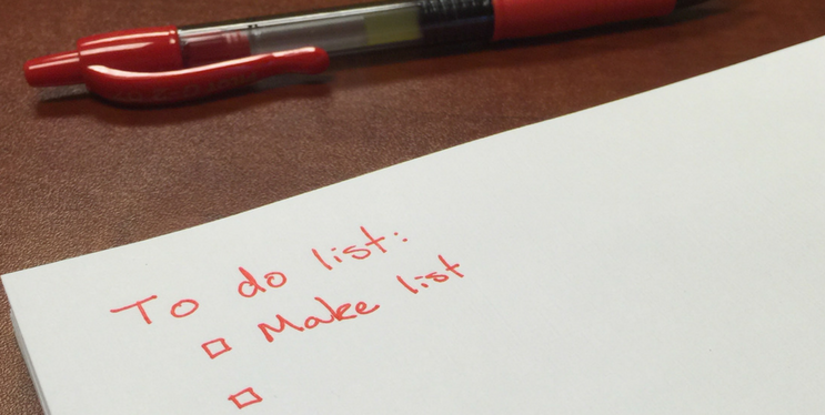 plan an event using event planning checklist