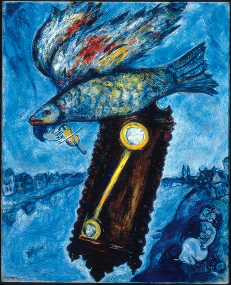 Marc Chagall, Time is a river without banks