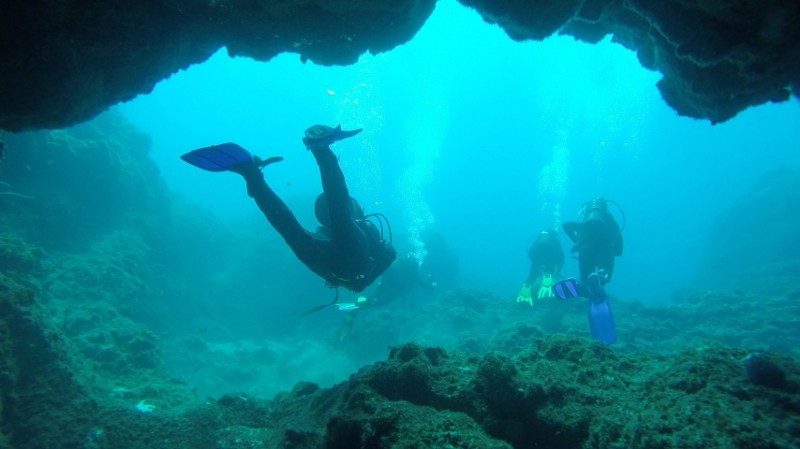 Scuba Diving is one of lisbon water activities