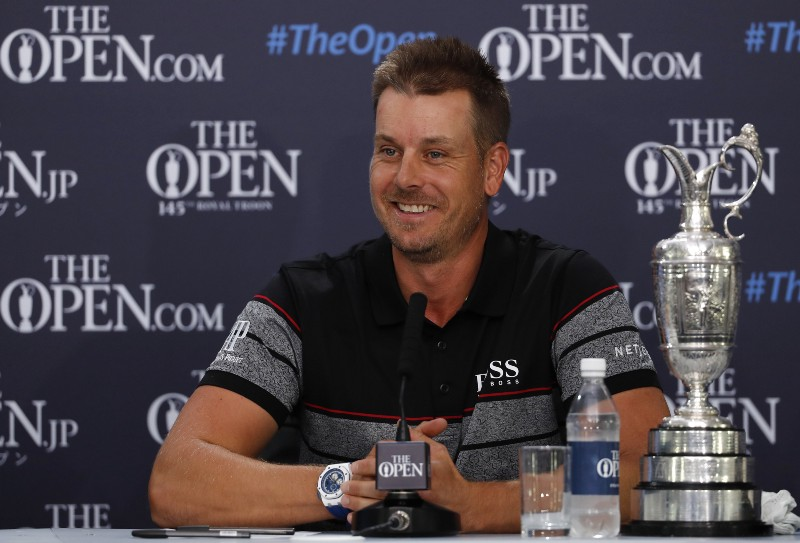 Stenson sees off Mickelson to win British Open