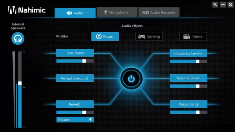 how to open hd audio manager