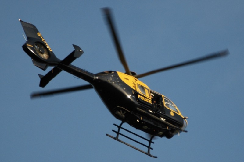 A police helicopter failed to find Kelly