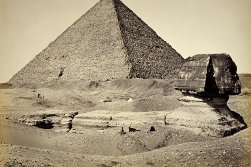 The Sphinx has looked out to the eastern horizon for millennia