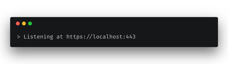 How to get HTTPS working on your local development environment in 5 minutes
