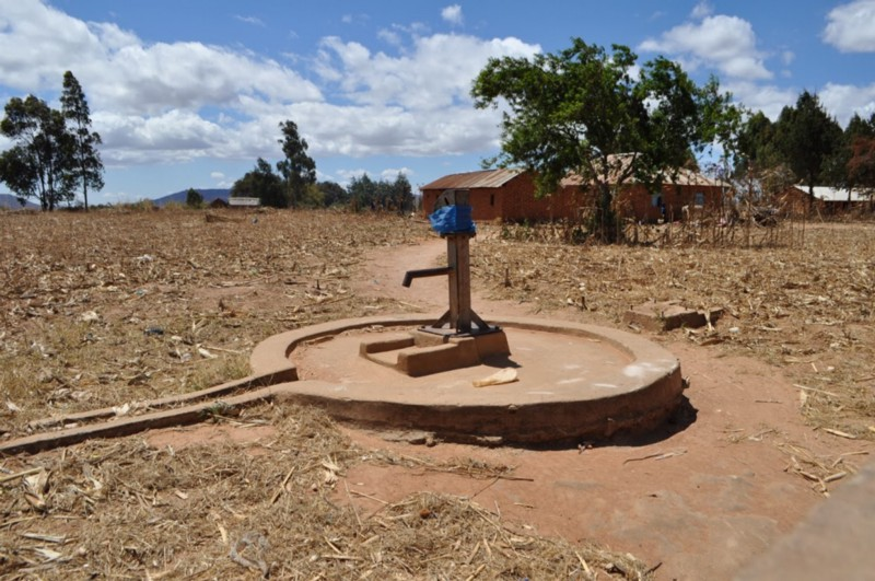 Broken well in Tanzania