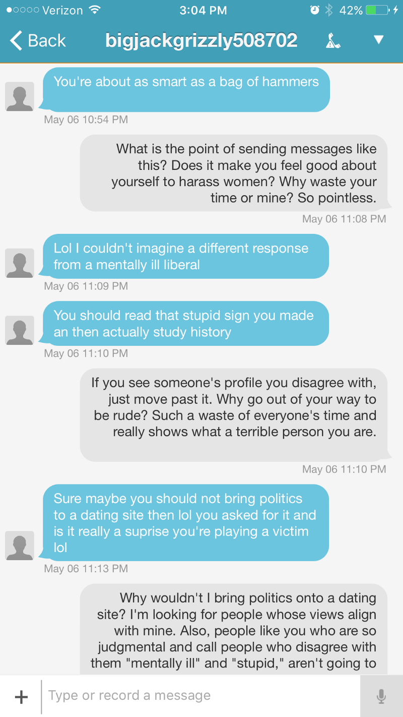 How to reply to message on dating site