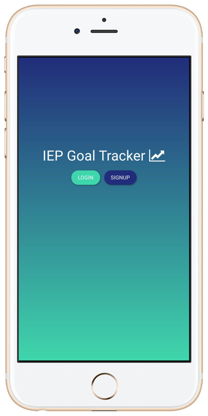 a goal tracking app for students with special needs