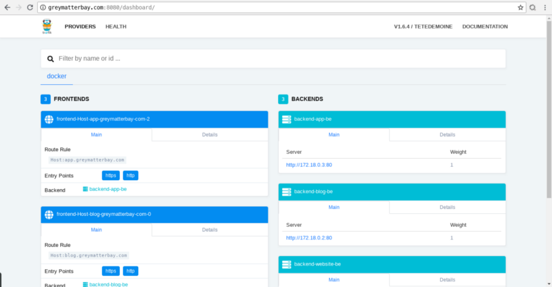 How to run multiple apps on one server using Docker and