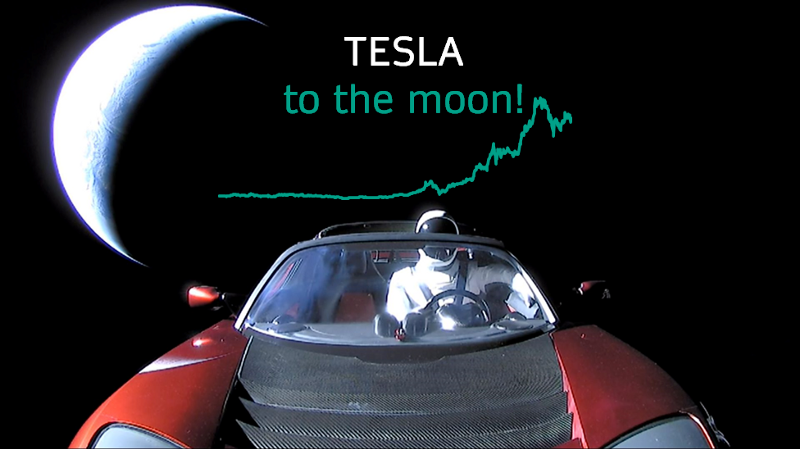 Astronomical Valuation of Tesla