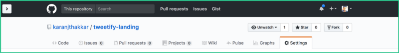 how to add github to website
