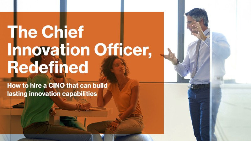 The Chief Innovation Officer, Redefined