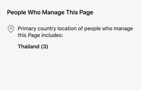 People Who Manage This Page Facebook
