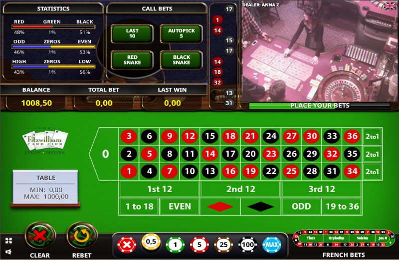 Roulette real