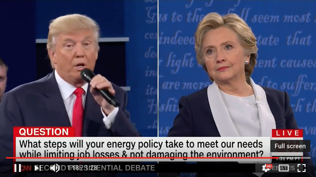 'Shameful': Another Presidential Debate Basically Ignores Climate Change
