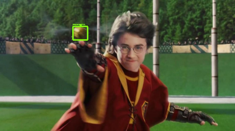How to play Quidditch using the TensorFlow Object Detection API