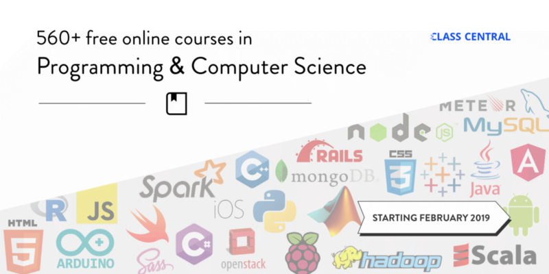 Free Online Programming & Computer Science Courses You Can Start in