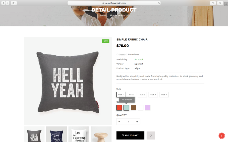 must have features on a Shopify template