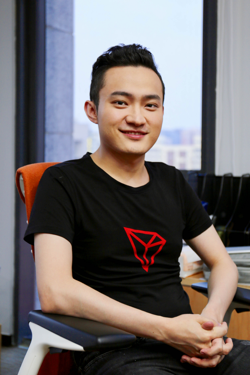 Justin Sun, founder and CEO of TRON