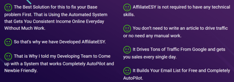 AffiliateESY Review [Official] 2