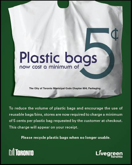 Plastic bag tax