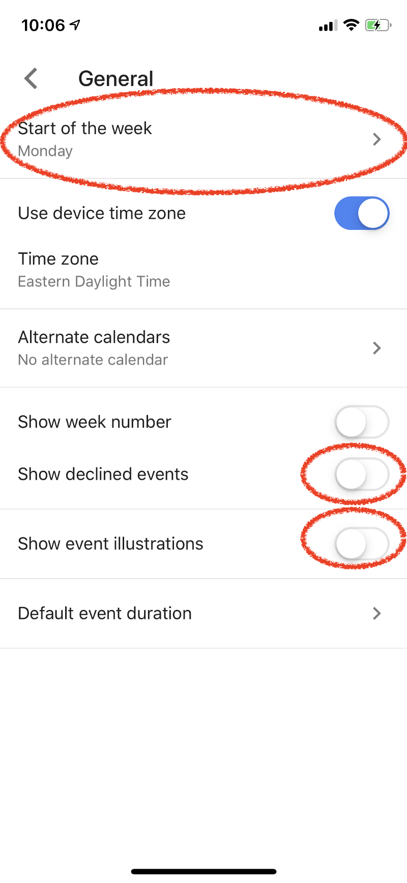 How To Configure Your Iphone Work For You Not Against Both Circuits Above Are Totally Unreliable And The Following Should Be Screen Head Over Today Swipe Right From Home Scroll Down Edit Button Turn On Google Calendar Move