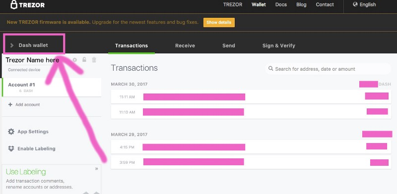 how to add other currencies to trezor