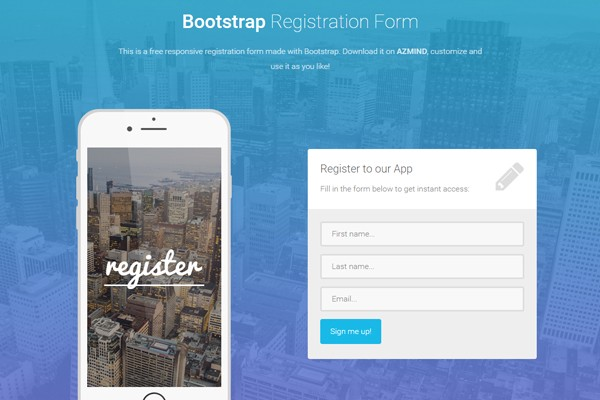 how to optimize register forms