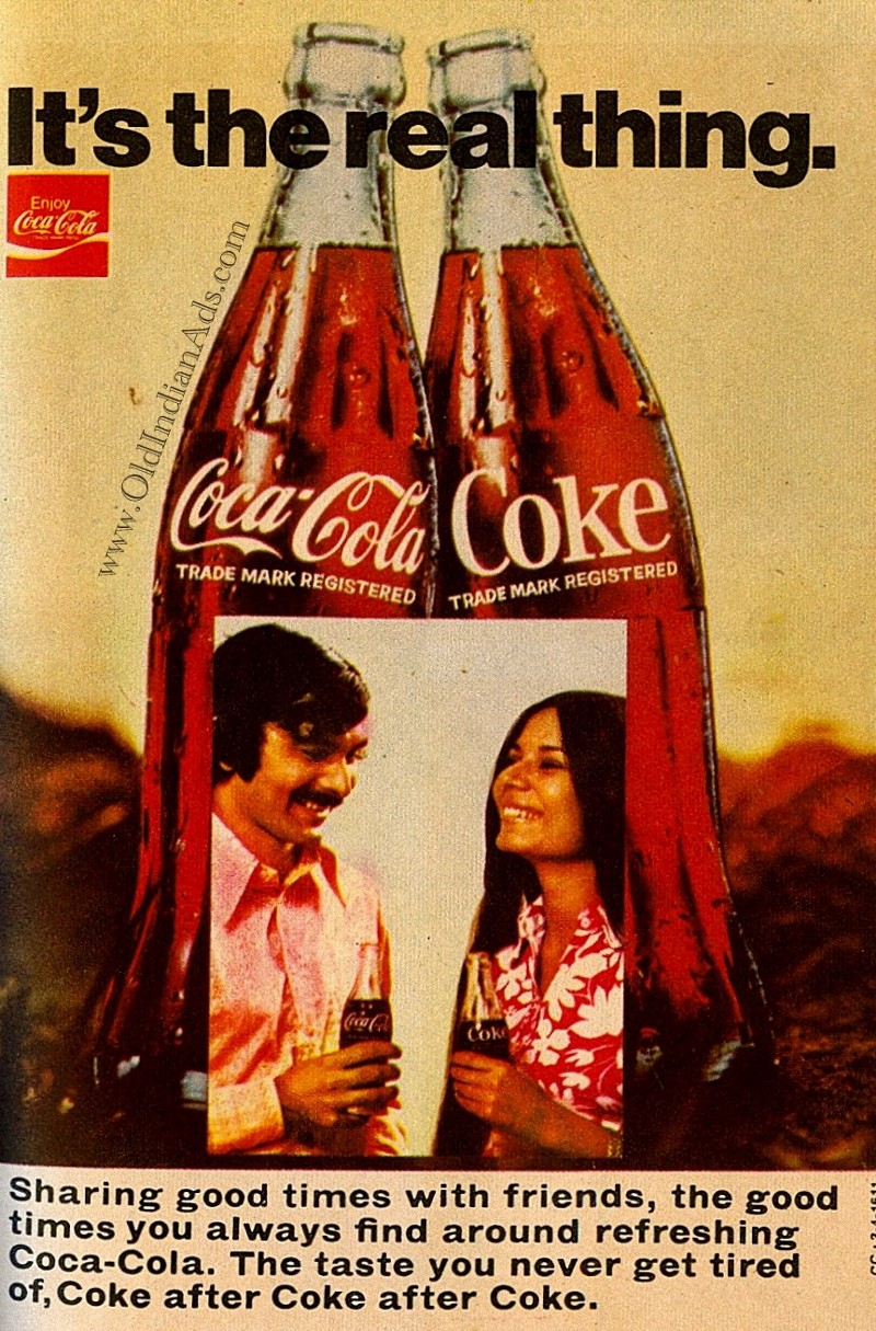 coke and pepsi from global to indian advertising Ganesh annamreddy download with google download with facebook or download with email coke and pepsi: from global to indian advertising.