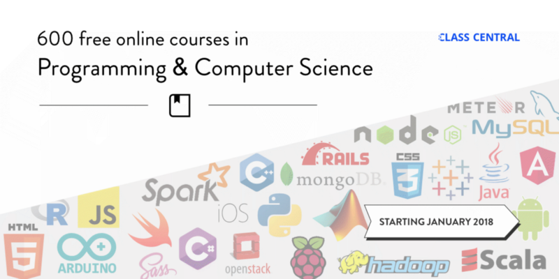 600 Free Online Programming & Computer Science Courses You Can Start in January