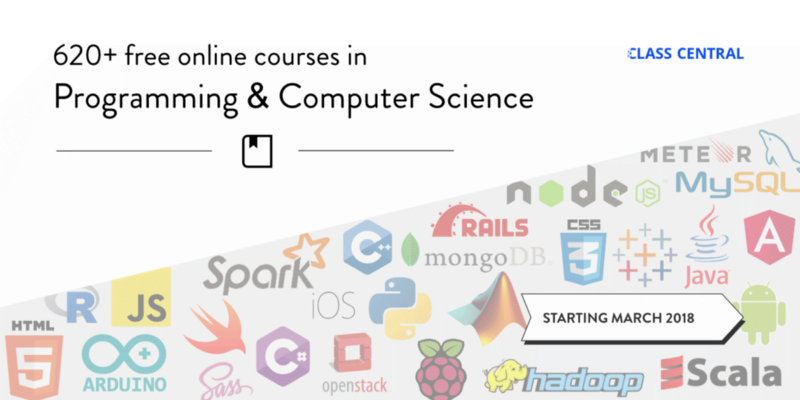 620+ Free Online Programming & Computer Science Courses You Can Start in March