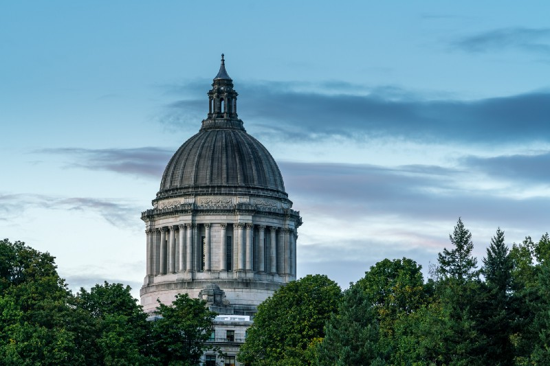 Picture of Washington State Capitol building