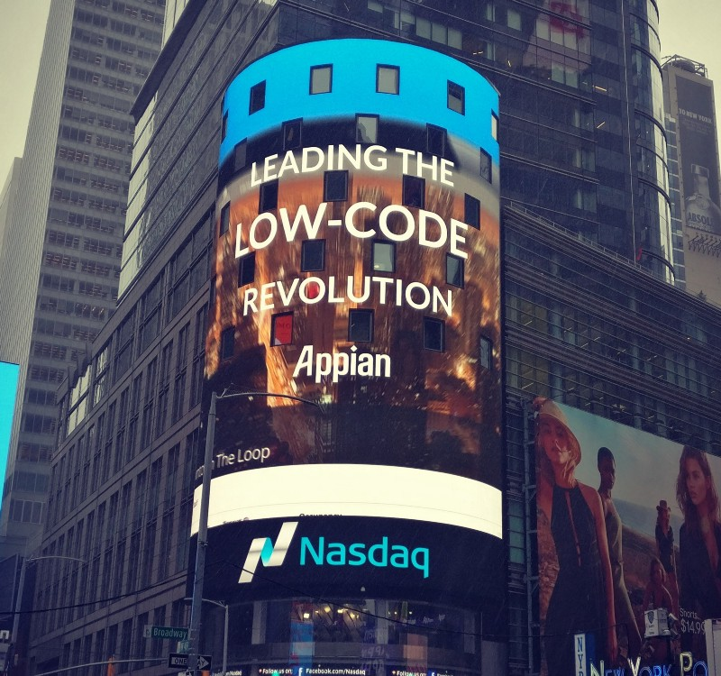 Appian: leading the low-code revolution in New York City.