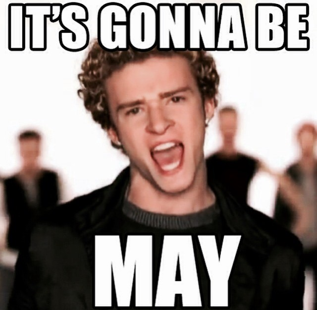 Image result for justin timberlake it's gonna be may