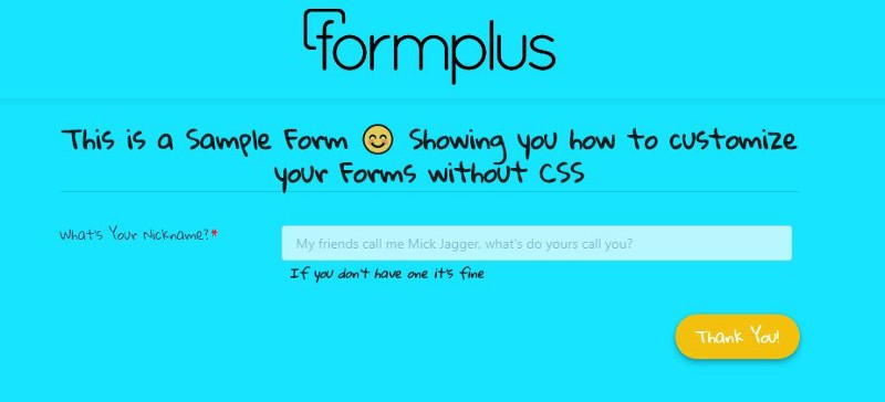 Don't know CSS? Create Beautiful and Branded Online Forms Easily