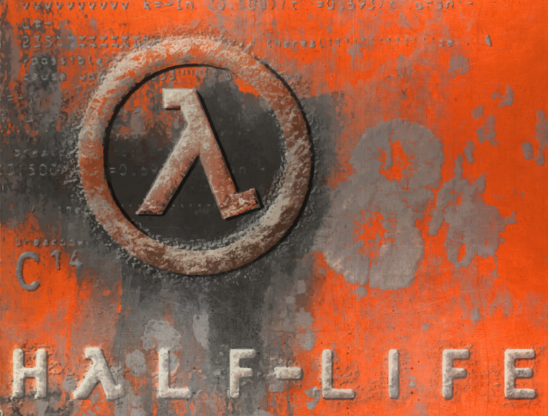 Picture of Half-Life game box art