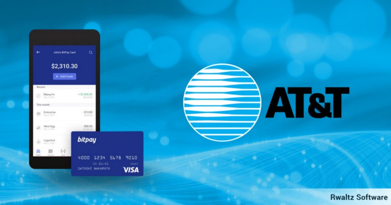 US Largest Telecom company AT&T started accepting Crypto Payment via BitPay