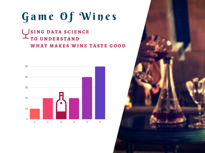 How to Use Data Science to Understand What Makes Wine Taste Good
