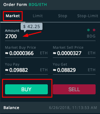 how to buy bitdegree tokens 8
