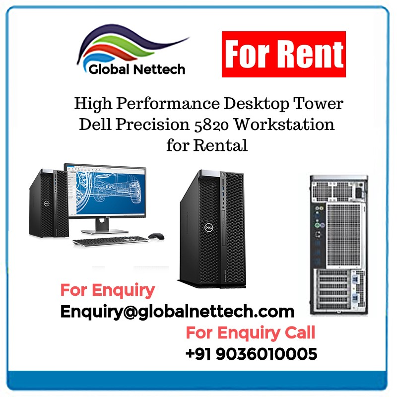 High-Performance Desktop Tower Dell Precision 5820