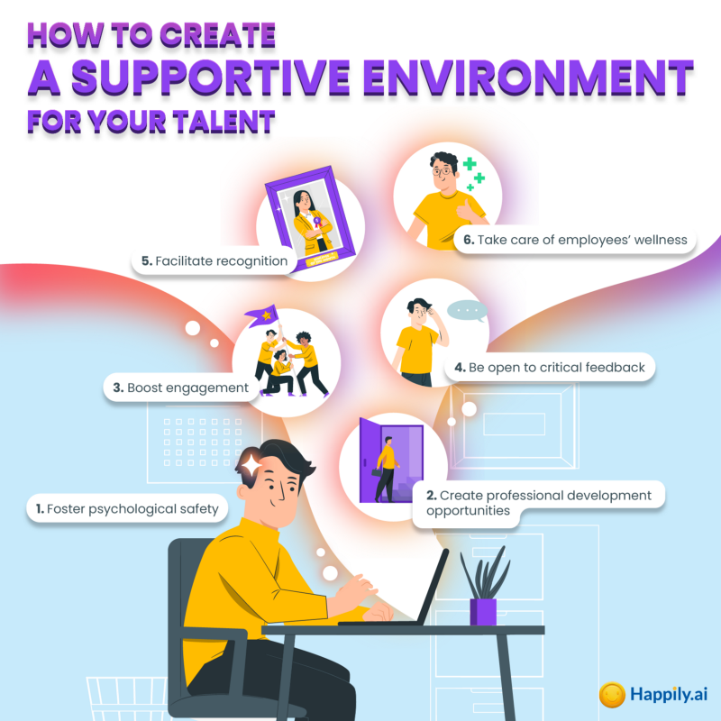 How to create a supportive environment for your talents
