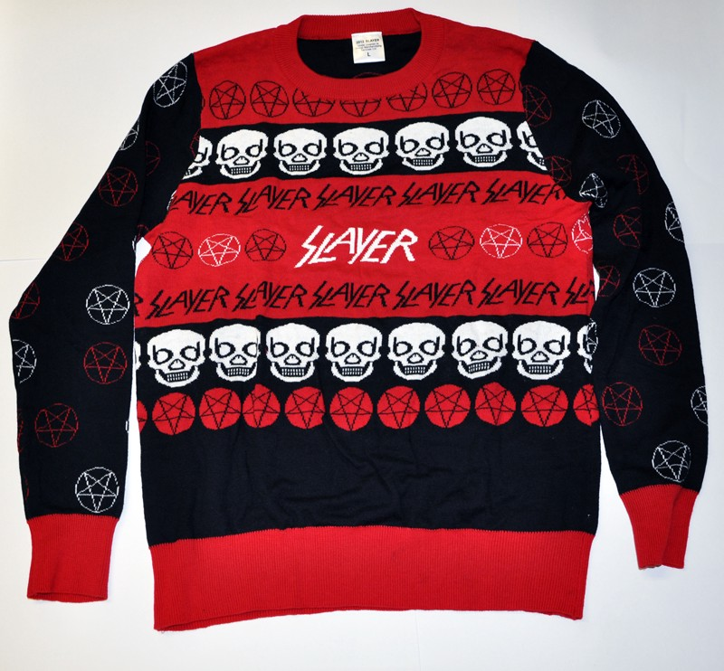 slayer started the metal christmas sweater trend just like they did death metal